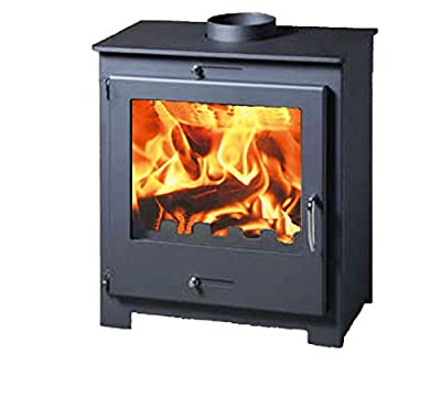 iStove Defra Certified 5kw Contemporary Wood Burning Multi-Fuel Stove