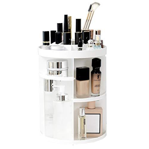 XXLlqdisplay Organizador Giratorio para Maquillaje Tamaño Grande para Almacenar Maquillaje, con Ensamblaje Incluye un...