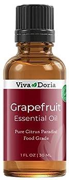 Viva Doria 100% Pure Grapefruit Essential Oil Undiluted Food Grade made in USA Grapefruit Oil 30 mL  1 Fl Oz