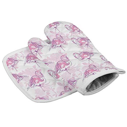 wenxiupin Hermoso Animal Tropical Acuarela Flamingo Beautiful Pink Lovers Flamingo Heart Rose...