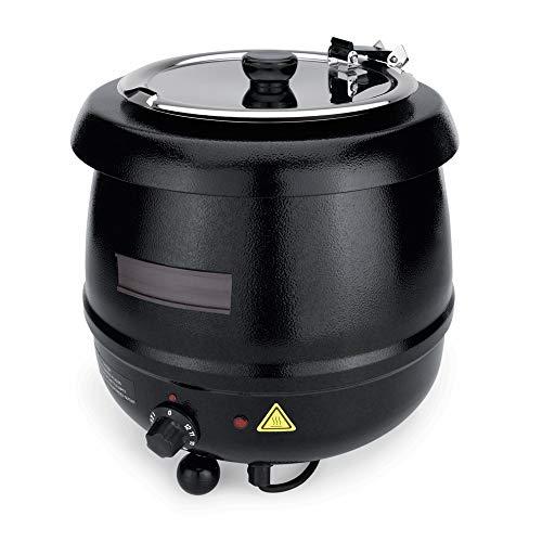 WAS 3410 110 Marmite électrique en tôle d'acier 11 l Ø 35 cm Hauteur 36 cm 230 V 400-475 W 50 Hz