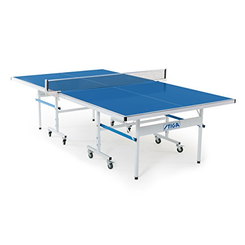 Stiga XTR Indoor/Outdoor Table Tennis Table 95% Preassembled Out of the Box with Aluminum Composite Top for All-Weather Performance