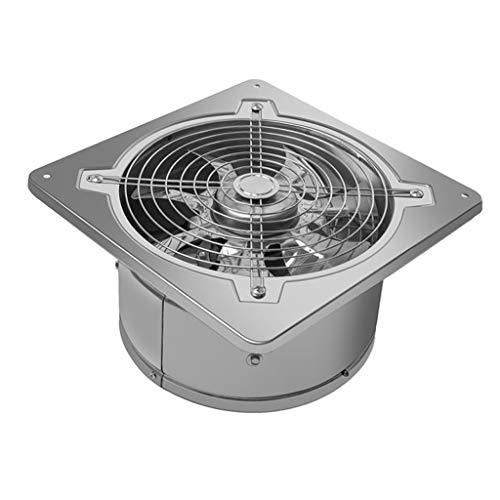 Ventilador de ventilación doméstico Extintor con La Válvula De Retención, 10' Silent Alta Velocidad Ahorro De Energía for El Baño/Cocina/Sala De Estar LITING