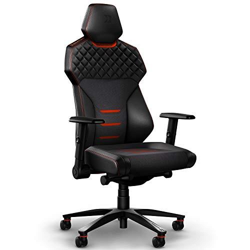 BACKFORCE One - Silla de escritorio premium con óptima ergonomía para sentarse durante mucho tiempo - Silla de gaming fabricada en Alemania - Desarrollada con E-Sports profesionales para jugadores