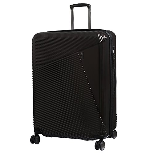 it luggage Metamorphic 8 Wheel Hard Shell Single Expander Suitcase Large with TSA Lock Maleta, 78 cm, 146 Liters, Marrón (Choco Aubergine)