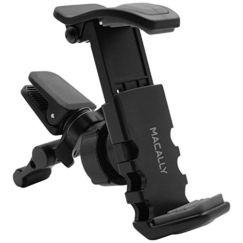 Macally Universal Car Air Vent Phone Holder Mount for iPhone 11 Pro Max XS XS Max X 8 8 Plus 7 7 Plus SE 6s 6 Plus 6 5s 5 4s 4 Samsung Galaxy S10 S9 S8 S7 LG Nexus Sony Nokia etc.