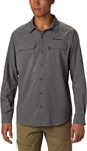 Columbia Herren Irico Langärmliges Hemd, City Grey, L