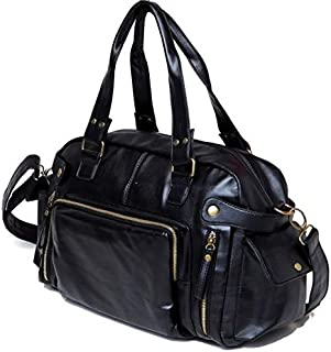 Nixon H9448 Shoulder Bag for Men - Leather, Black
