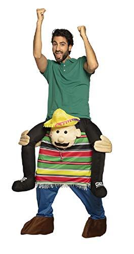 B88114-L-XL - Poncho para hombre y mujer, diseño mexicano