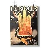 Metropolis Movie for restaurant A0 A1 A2 A3 A4 Satin Foto