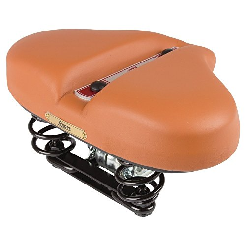 Lepper Hygia CX Damen Fahrrad Rock Sattel Leder Care Line Retro Vintage bequem, 630281