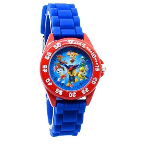 Paw Patrol Armbanduhr Analog Kinder Uhr Marshall Chase und Co.