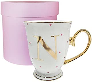 Best alphabet mug gold Reviews