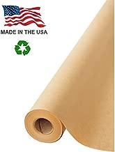 Made in USA Brown Kraft Paper Jumbo Roll 30