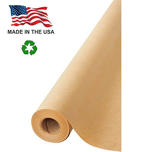 Made in USA Kraft Paper Wide Jumbo Roll 48