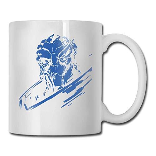 Hdadwy Garus Mass Effect White Personalisierte weiße Kaffeetasse Teetasse