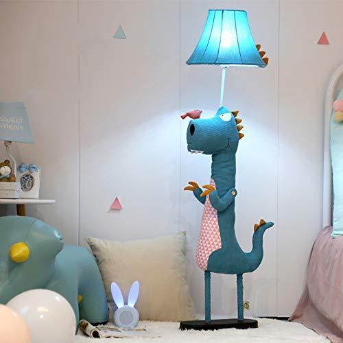 Weiye E27 pie, lámpara de cabecera del Dormitorio, Cuarto de iluminación Decorativa de los niños, Mando a Distancia, Regulable,Button Switch