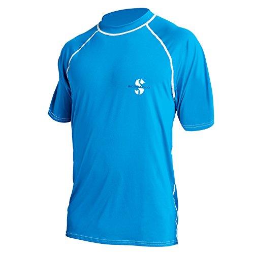 SCUBAPRO Rash Guard Loose Fit T-Shirt UPF 50 blau (Größe: S)