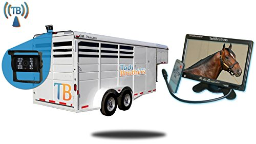 TadiBrothers 7 Inch Horse Trailer Monitor