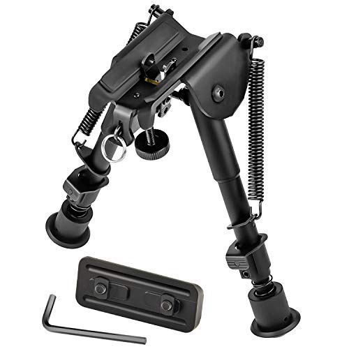 MidTen 6-9 Inches Bipod Rifle Bipod with Adapter