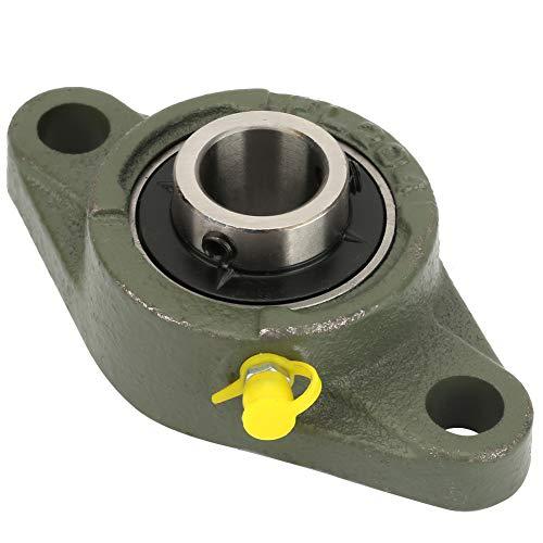 Haowecib Rodamiento montado, rodamiento rómbico Duradero, Auto alineación versátil montado Engrosado para maquinaria Industrial