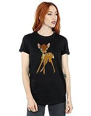 Disney mujer Bambi Classic Bambi Camiseta Del Novio Fit