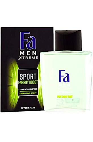 FA Men Xtreme Sport Energy Max 46% OFF Boost Excellent After 3.4 fl 100 oz Shave ml