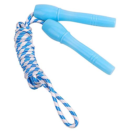 2.4M Children Skiping Rope Weavon Ropes Adjustable Lightweight Durable Practical Jump Rope Indoor Fitness Equipment 5 Colors -_BU