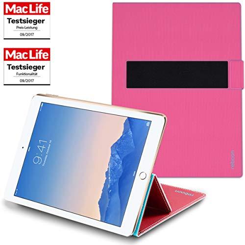 reboon Hülle für Apple iPad Air 2 Tasche Cover Case Bumper | in Pink | Testsieger