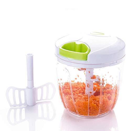 MovilCom® - Cortador de Verduras | Picadora Manual de Alimentos | trituradora...