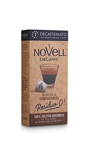 Cápsulas Compostables con café Ecológico - Decaffeinato - 10u
