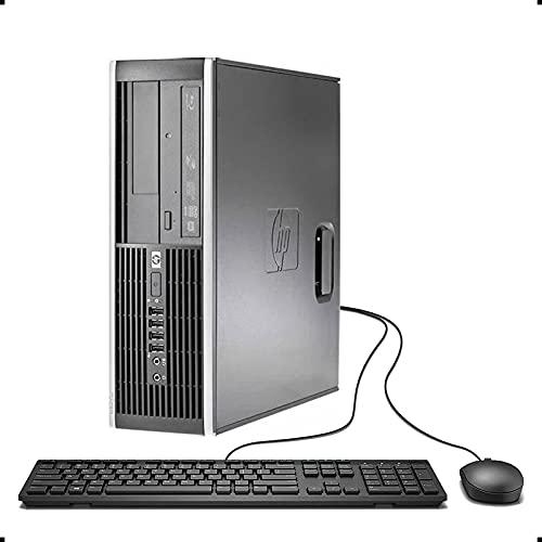HP Elite 8200 SFF Desktop PC - Intel Core i5-2400 3.1GHz 8GB 500GB DVDRW Windows 10 Professional (Renewed)