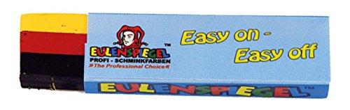 Eulenspiegel Fun-Stick Deutschland Schminkstift 3-farbig