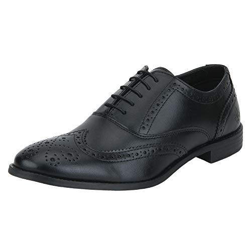 Bond Street by (Red Tape) Men BSS027 Black Formal Shoes-7 (BSS0271D)