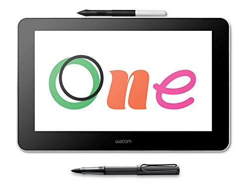 Wacom One + Lamy AL-Star Black EMR Stylus inklusive Delock Adapter zur mobilen Nutzung