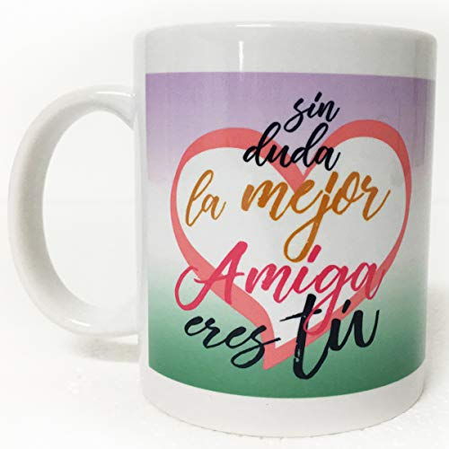 ARTEMODEL-sin Duda Amiga Tasse, Mehrfarbig (1)