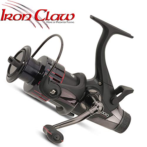IronClaw Prey Provider 4000 - Freilaufrolle zum Karpfenangeln, Karpfenrolle zum Ansitzangeln, Stationärrolle mit Freilauffunktion