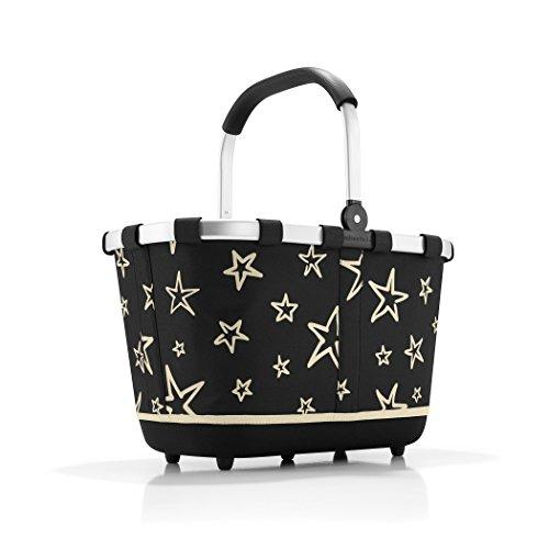 Reisenthel carrybag 2 Stars, Polyester, Schwarz, 48 x 32 cm