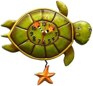 Allen Designs Shelldon (Turtle) Pendulum Clock
