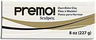Premo Sculpey Polymer Clay 8oz, White