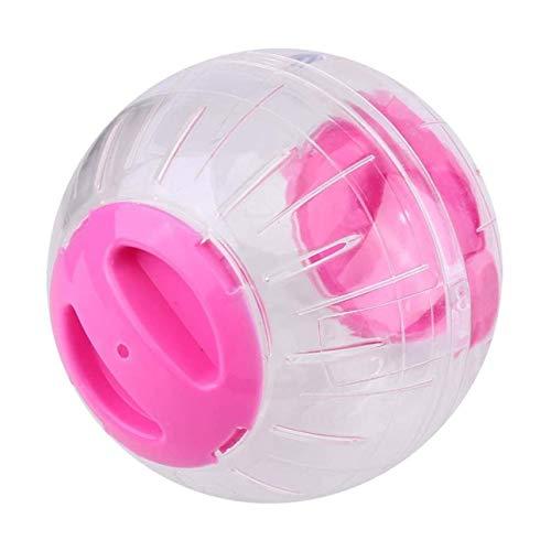 Ba30DEllylelly Pelota para Correr para Mascotas, Grounder de plástico para Correr, hámster, Juguete pequeño para Ejercicio, Accesorios para hámster, Corredor de Cristal para hámster