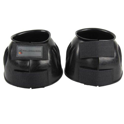 WALDHAUSEN Hufglocken PVC, schwarz, XL, schwarz, XL