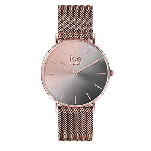 Ice-Watch - CITY sunset Milanese - Smoky eye - Women\'s wristwatch with metal strap - 016026 (Small)