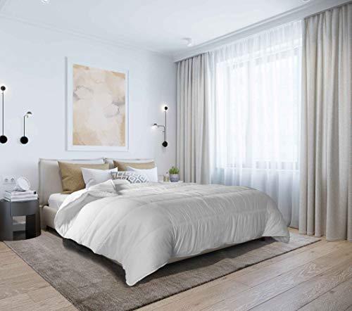 """Italian Bed Linen Piumino Invernale """"Morbidissimo"""", Bianco, 245 x 195 cm"""