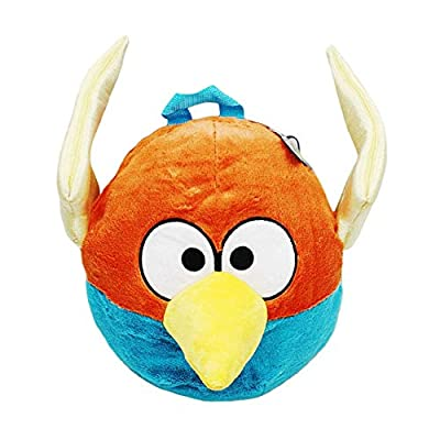 """Angry Birds SPACE - Blue Bird 13"""" Plush Back Pack, Licensed"""