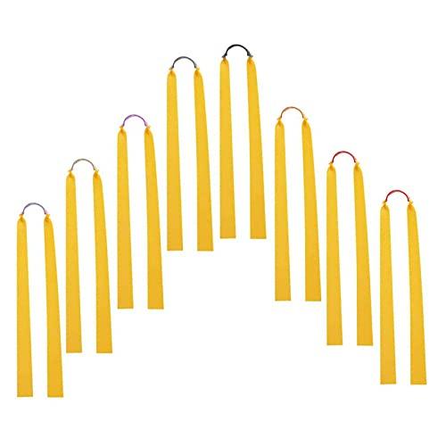 Xinlon 10 Pezzi Elastico per Fionda, Fionda Professionale Fasce Elastiche, Alta Resistenza e proprietà di Trazione, Elastico Antigelo per Raduno, Presa, Fionda