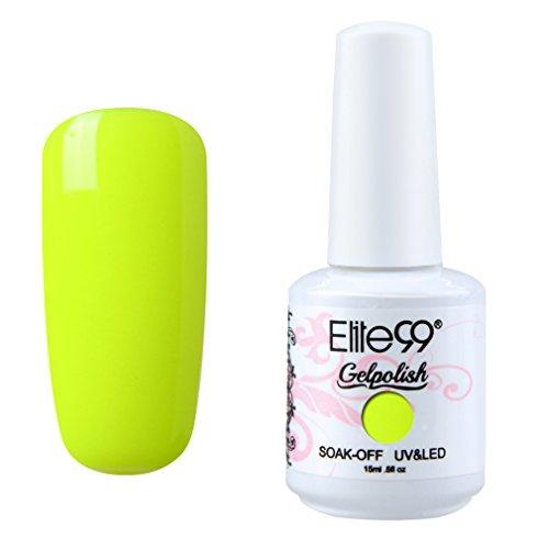 Smalto Semipermanente di Elite99 Smalto 1 pcz per Unghie in Gel UV LED per Unghie Nail Art Soakoff 15ml -1474