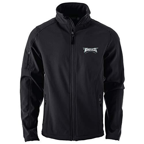 NFL Philadelphia Eagles Men's Sonoma Softshell Jacket, 2X, Team Color