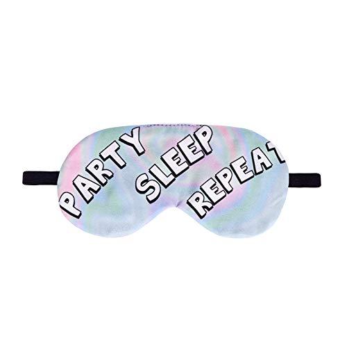 Tbaobei-Baby Oogmasker, slaapmasker, oogmasker, masker voor mannen en vrouwen, slaapmasker