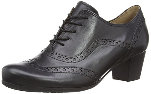 Gabor Denver 05.460 Damen Schnürhalbschuhe, Black (Black Leather), 38.5 EU ( 5.5 UK)